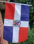 HAND WAVING FLAG - Dominican Republic
